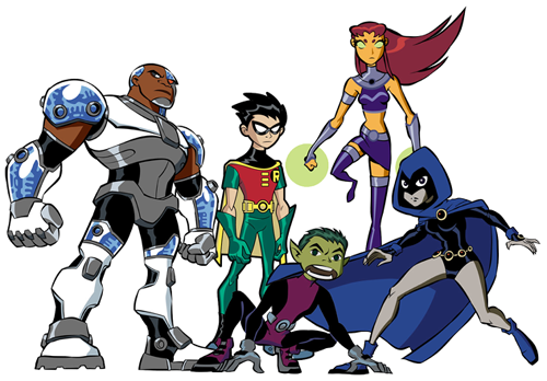 Image from the Saturday Morning Cartoon: The Teen Titans