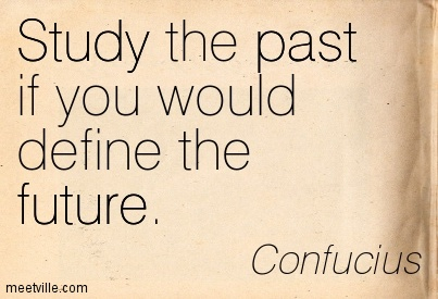 Study the past